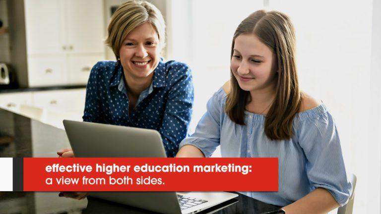 Effective Education Marketing - high school prospects